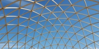 Masser af limtræbuer i Dome of Visions