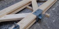 Kratskolen limtræsproduktion gitterværk
