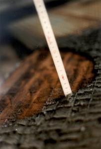 Indbrænding i limtræ sker forudsigeligt