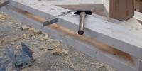 Kratskolen limtræproduktion gitterværk